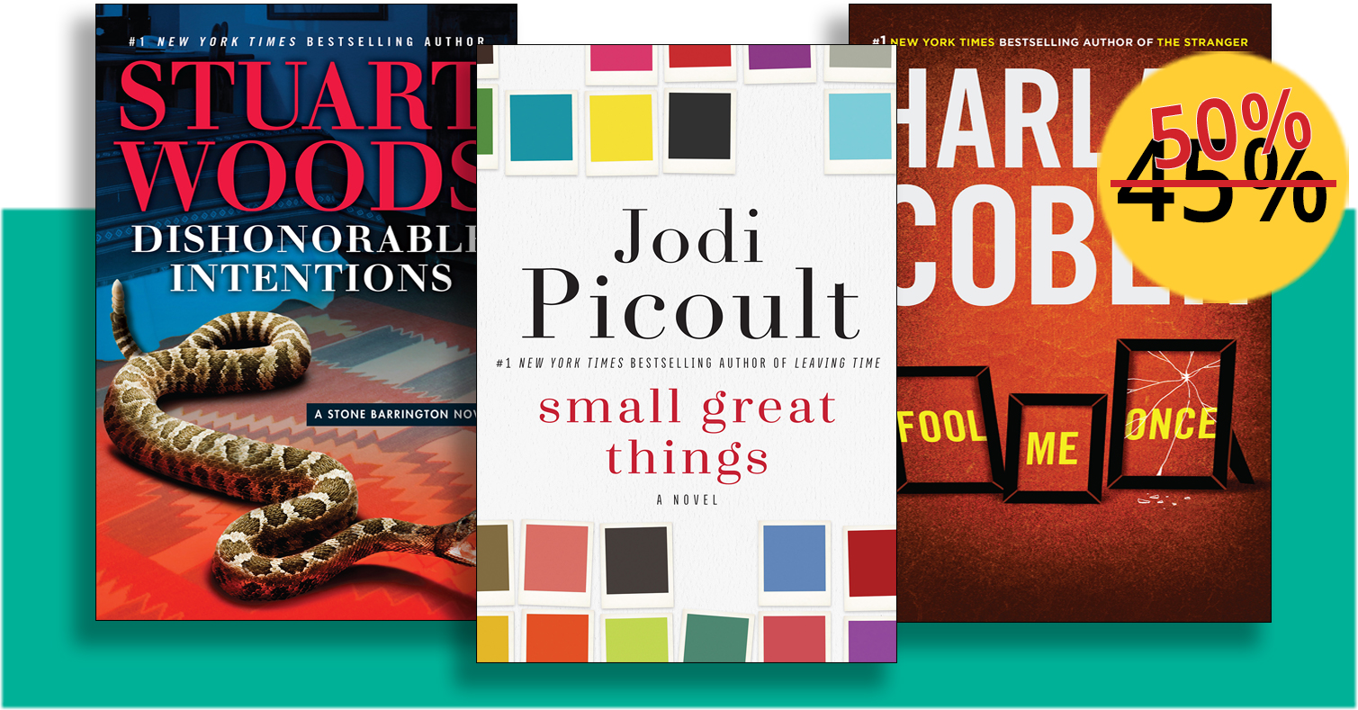 Buzzworthy Books at Spectacular Savings