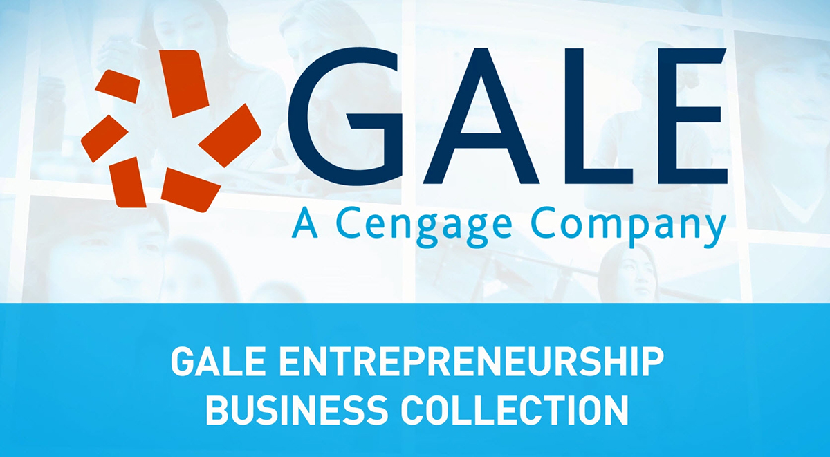 Gale Entrepreneurship Collection, entrepreneur, collection, bundle, business, databases