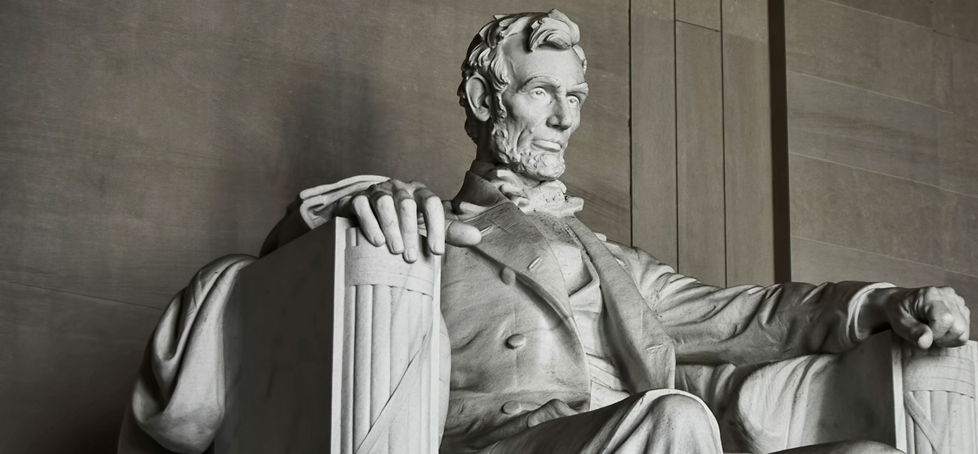 Image of Abraham Lincoln's Monument in Washington D.C.