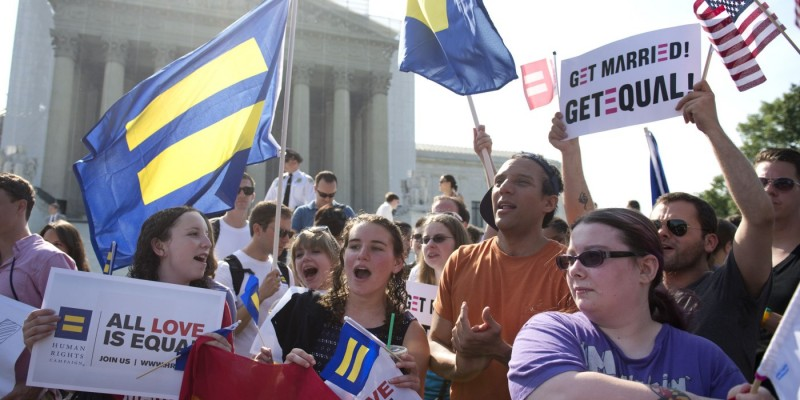 Supreme Court Gay Rights Rulings in Washington, D.C