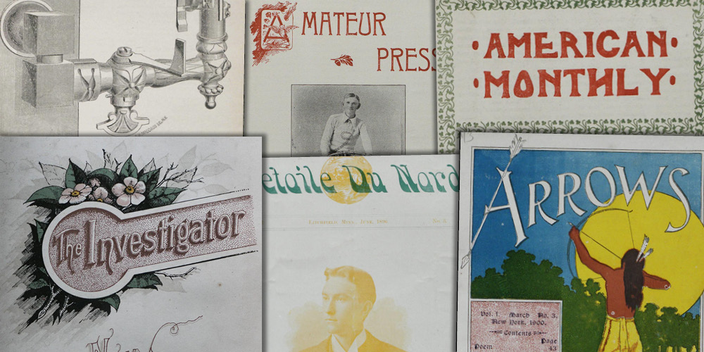 Various source media. Amateur Newspapers from the American Antiquarian Society