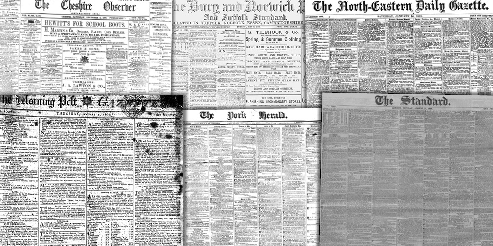 Various source media, British Library Newspapers, Part II: 1800–1900