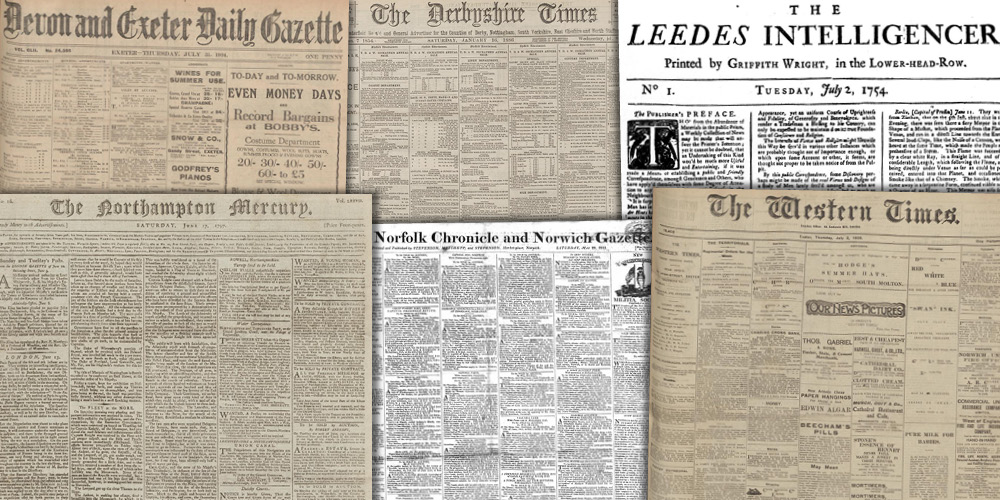 Various source media, British Library Newspapers, Part III: 1741–1950