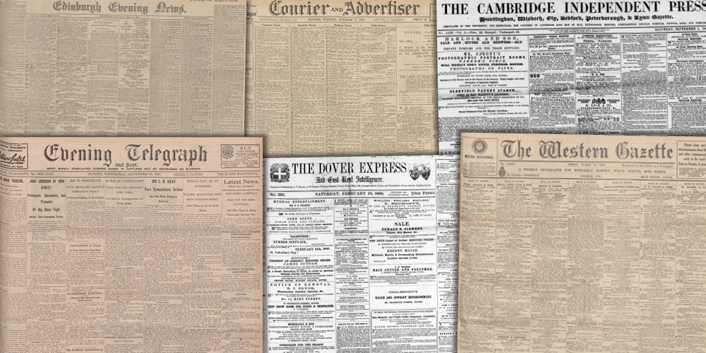 Various source media, British Library Newspapers, Part IV: 1732–1950