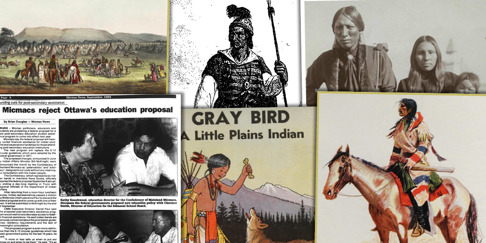 Various source media, Indigenous Peoples of North America