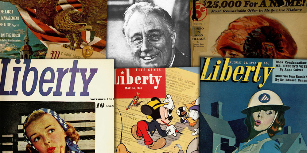 Various source media. Liberty Magazine Historical Archive, 1924–1950