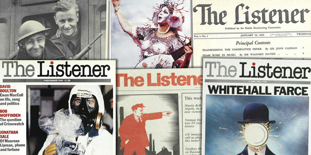 Various source media. The Listener Historical Archive 1929-1991