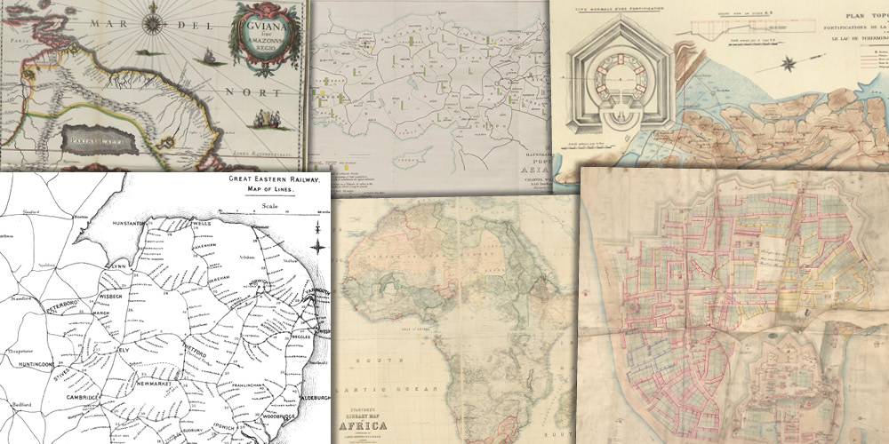 Various source media, Nineteenth Century Collections Online: Mapping the World: Maps and Travel Literature