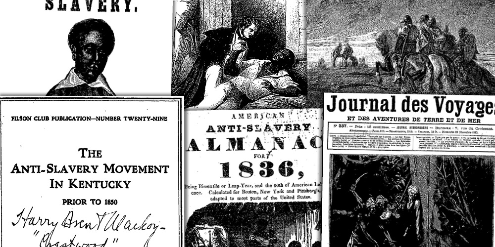 Various source media, Slavery and Anti-Slavery: A Transnational Archive: Part III: The Institution of Slavery