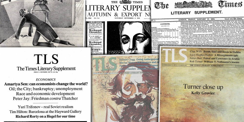 Various source media. Times Literary Supplement Historical Archive