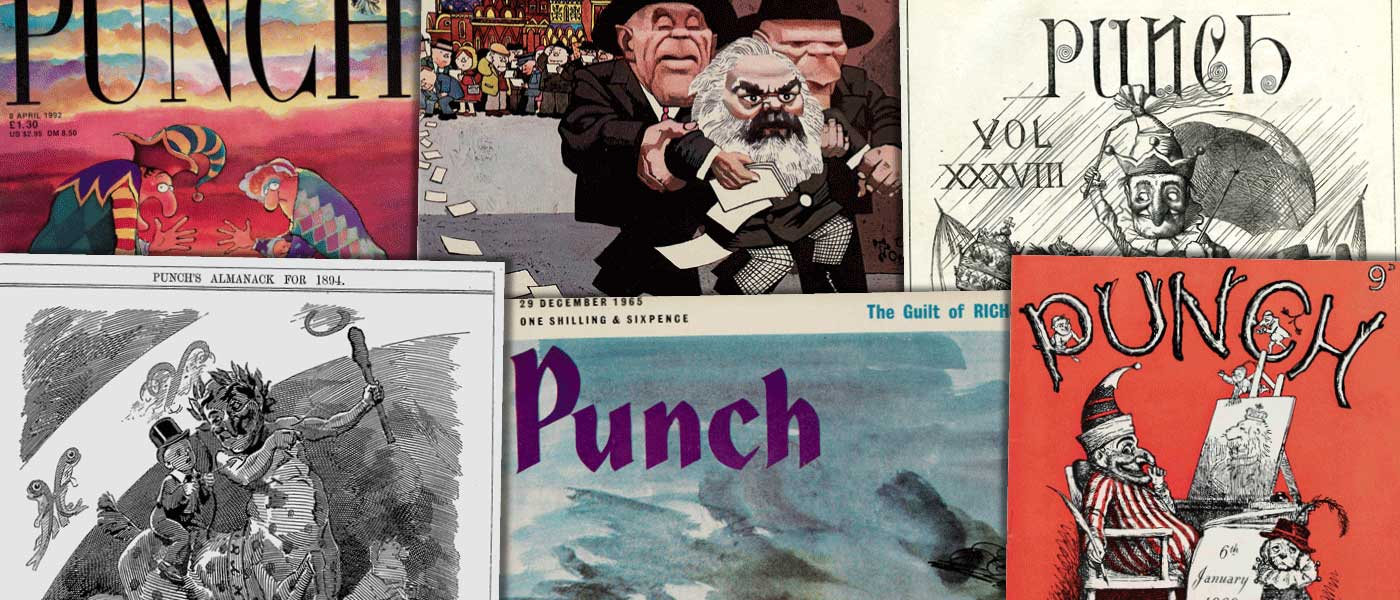 Various source media, Punch Historical Archive, 1841–1992