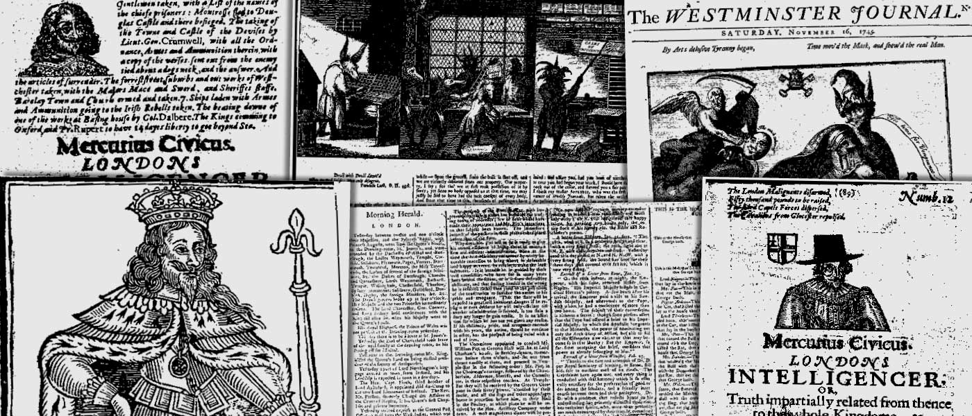Various source media. Seventeenth and Eighteenth Century Burney Newspapers Collection