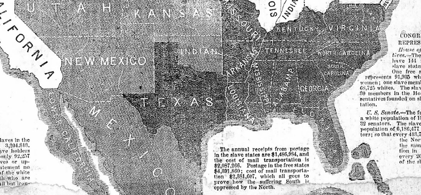 The Border ruffian code in Kansas.
