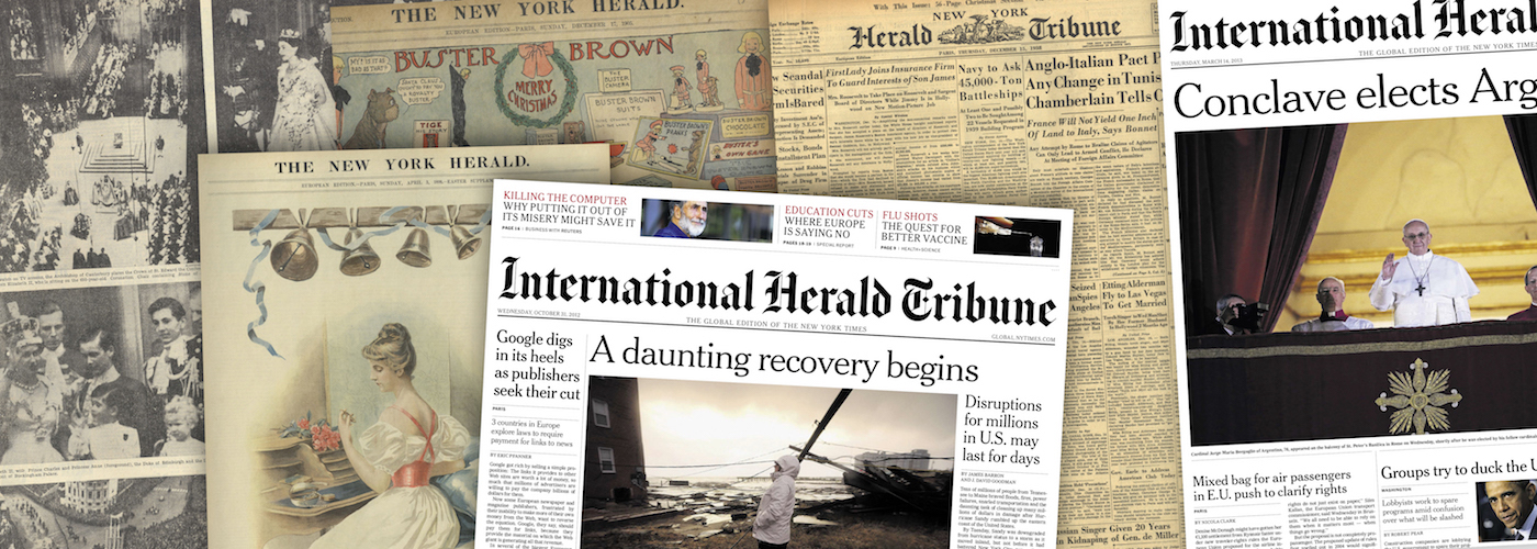 International Herald Tribune Historical Archive, 1887-2013