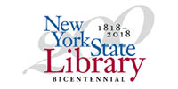 New York State Library logo