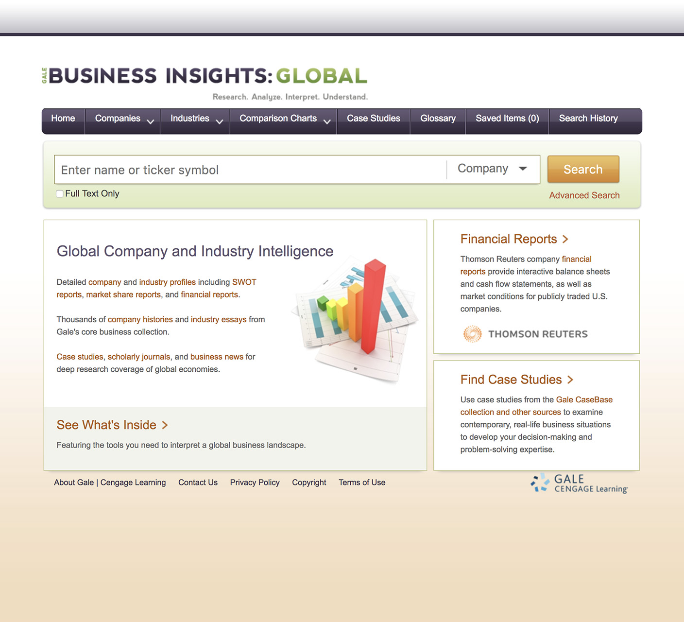Business Insights Global Homepage