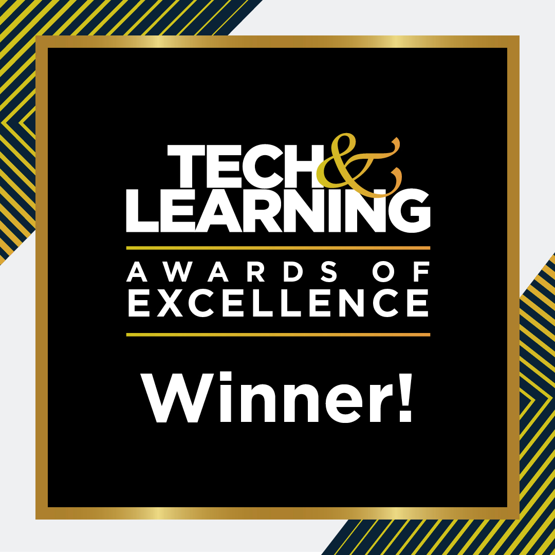 Tech & Learning Award Winner Badge