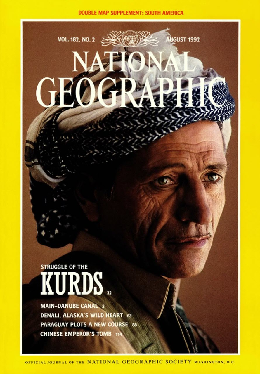 National Geographic Magazine. August 1992.