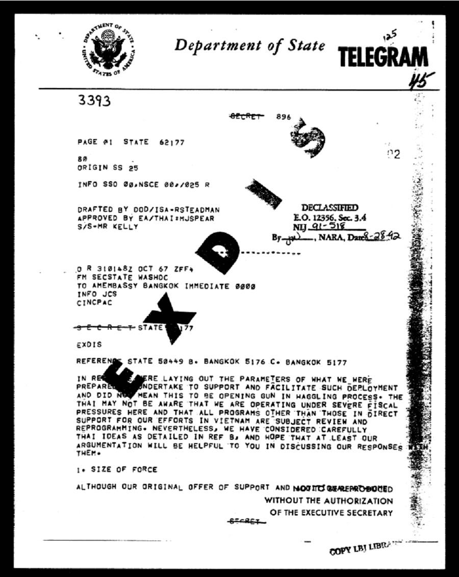 U S  Declassified Documents Online