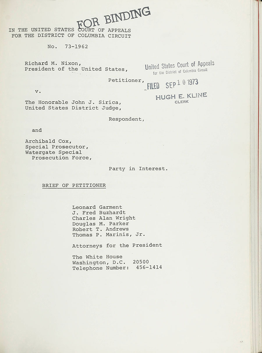 Image from the Making of Modern Law: Landmark Records and Briefs of the U.S. Courts of Appeals, 1950‒1980