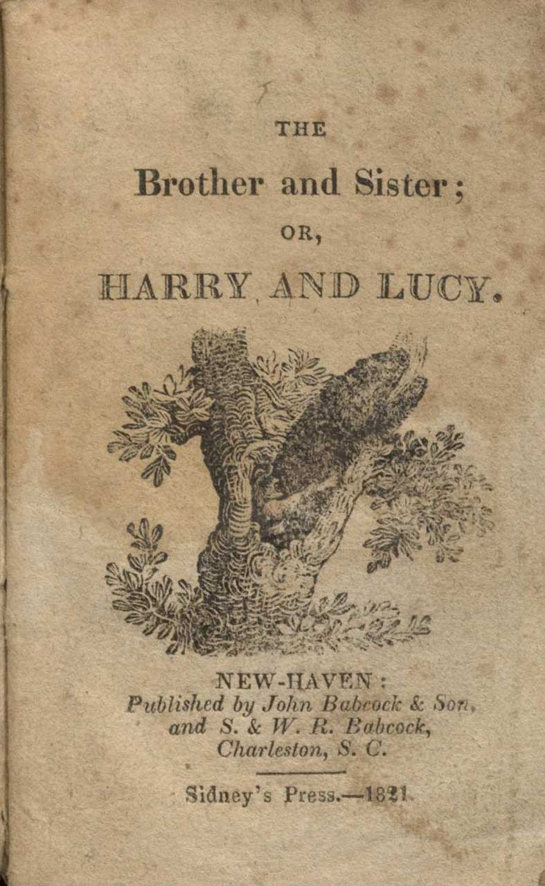 From: Maria Edgeworth, The brother and sister; or, Harry and Lucy (1821)
