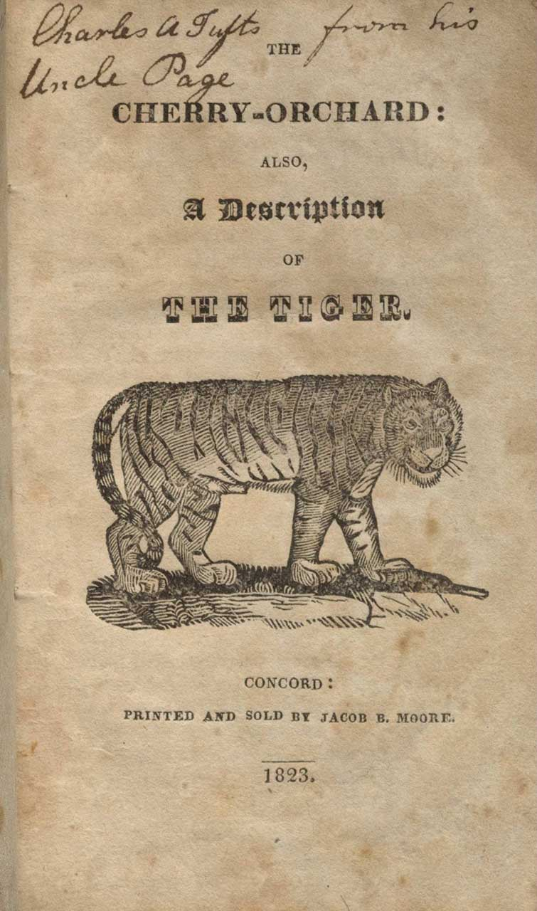 From: Maria Edgeworth, The cherry-orchard: also, a description of the tiger (1823)